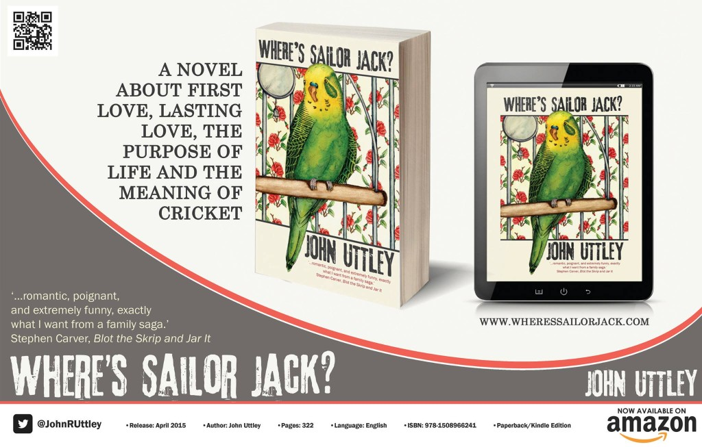 Available Now - Where's Sailor Jack?